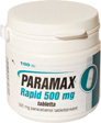 PARAMAX RAPID 500 MG TABLETTA 100X