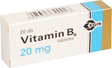 VITAMIN B6 EGIS 20 MG TABLETTA 20X