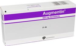 augmentin 500 mg 125 mg filmtabletta ára