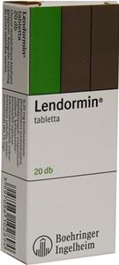 LENDORMIN 0,25 MG TABLETTA 20X Adatlap / PirulaPatika ...  LENDORMIN 0,25 ...