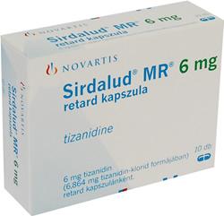 Sirdalud Retard
