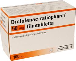 Szív-érrendszeri kockázatot jelenthet a diclofenac?