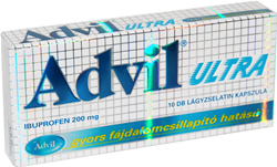 ADVIL ULTRA LÁGY KAPSZULA