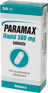 PARAMAX RAPID 500 MG TABLETTA